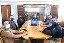 Conseg e Legislativo tratam de parcerias